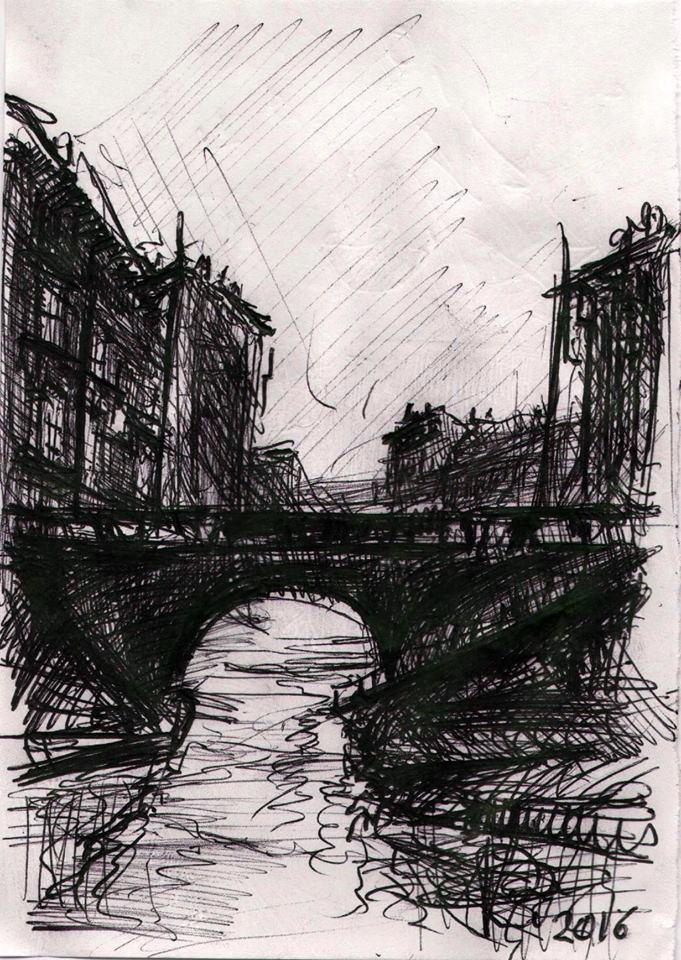 Milano - Il ponte della Scodella