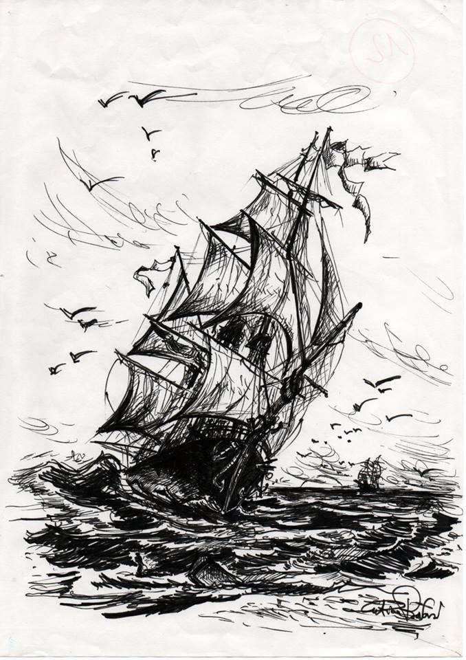 Clipper in navigazione